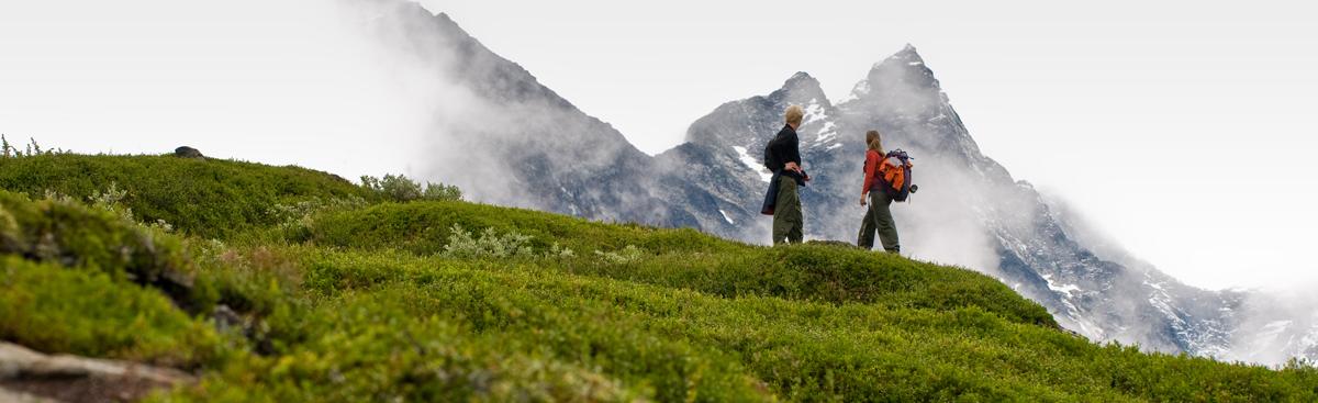 Wanderkleidung in Norwegen